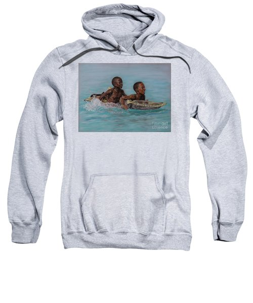 Holiday Splash Sweatshirt