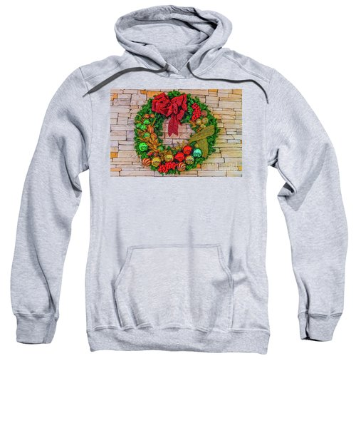 Holiday Wreath Sweatshirt