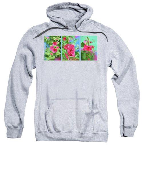 Hollyhock - Triptych Sweatshirt