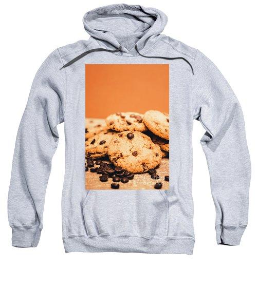 Home Baked Chocolate Biscuits Sweatshirt