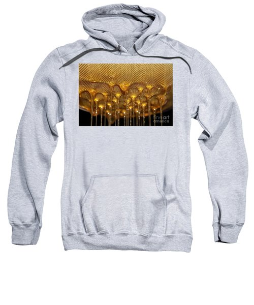 Sweatshirt featuring the photograph Honey Drip by Stephen Mitchell