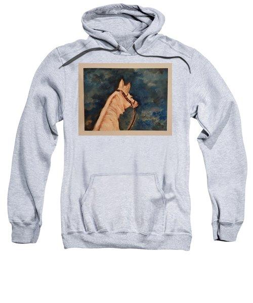 Honey Palomino Horse 28 Sweatshirt