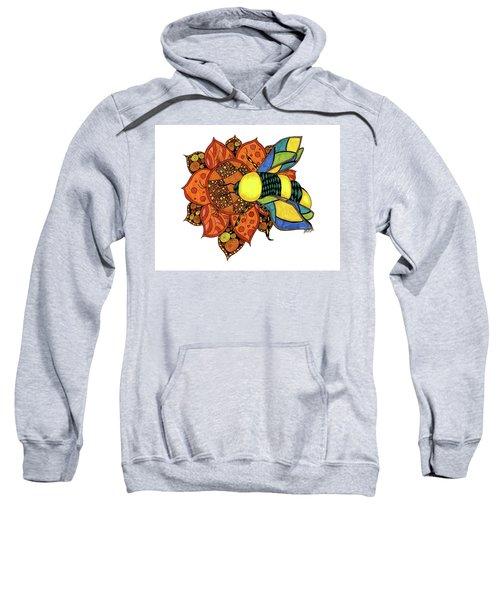 Honeybee On A Flower Sweatshirt