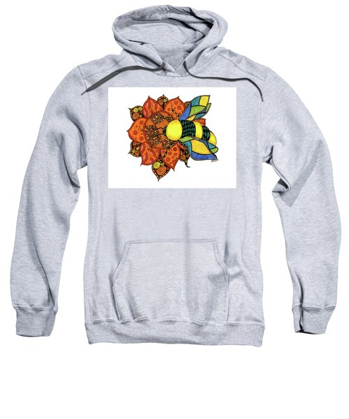 Honeybee On A Flower Sweatshirt