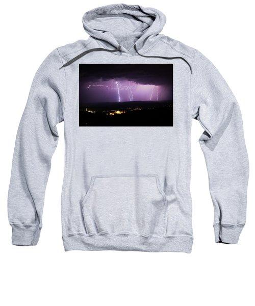 Horizontal And Vertical Lightning Sweatshirt