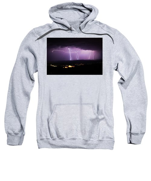Horizontal And Vertical Lightning Sweatshirt