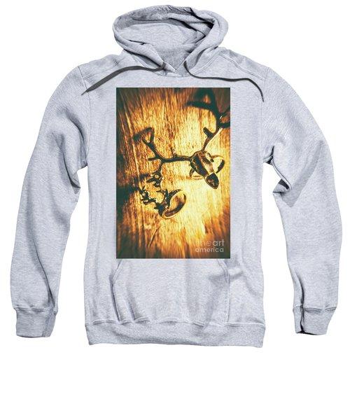 Horned Animal Rings Sweatshirt