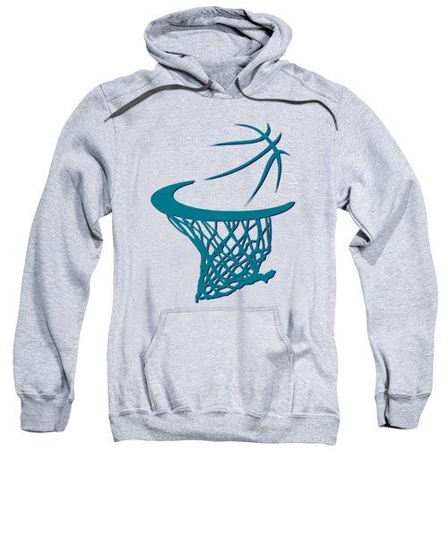 Hornets Basketball Hoop Sweatshirt