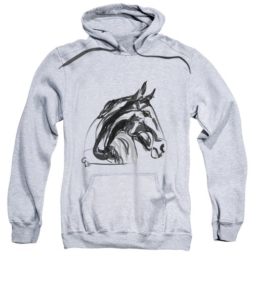horse - Apple digital Sweatshirt