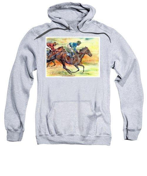 Horse Races Sweatshirt
