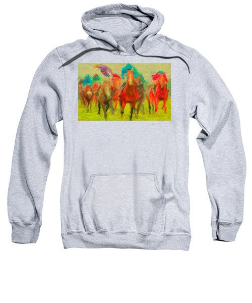 Horse Tracking Sweatshirt