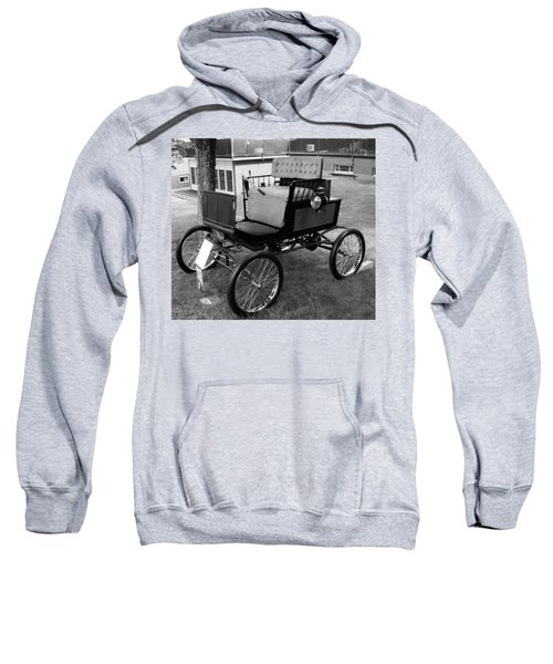Horseless Carriage-bw Sweatshirt