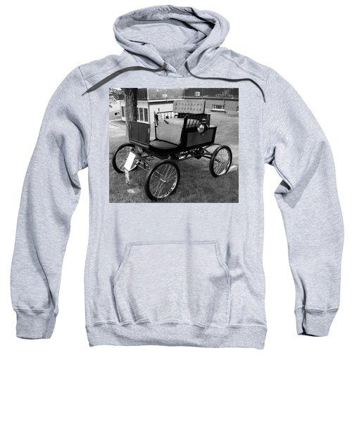 Horseless Carriage-bw Sweatshirt