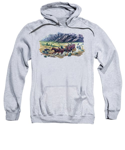Horses And Motorcycles Sweatshirt