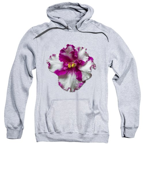Hot Pink Flower Sweatshirt
