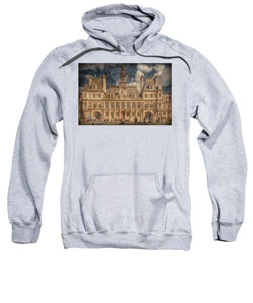 Paris, France - Hotel De Ville Sweatshirt