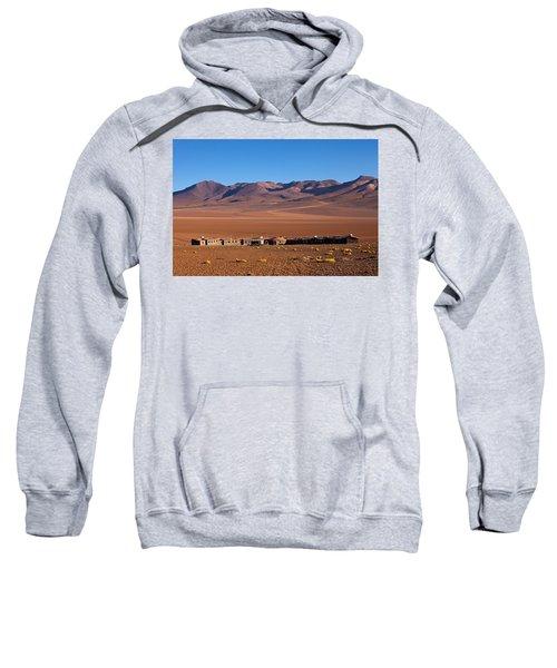 Hotel Tayka Del Desierto In Siloli Desert Sweatshirt