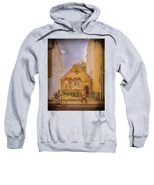 Oxford, England - House On Walton Street Sweatshirt