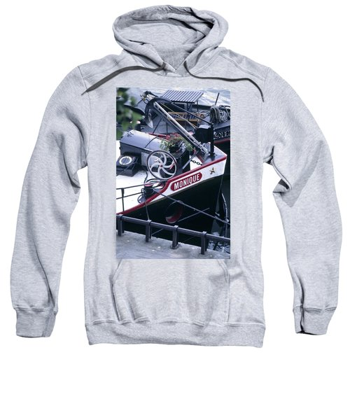 Houseboat In France Sweatshirt