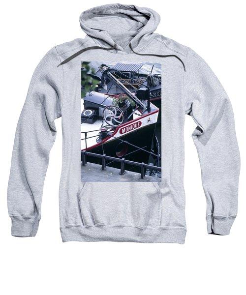 Houseboat In France Sweatshirt