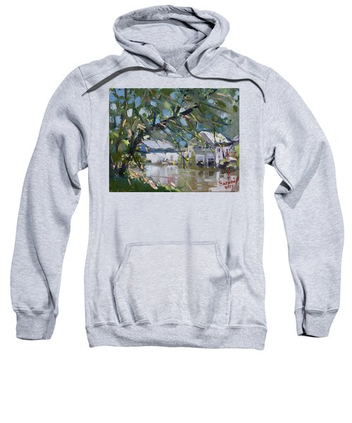Houses Along The Canal Sweatshirt
