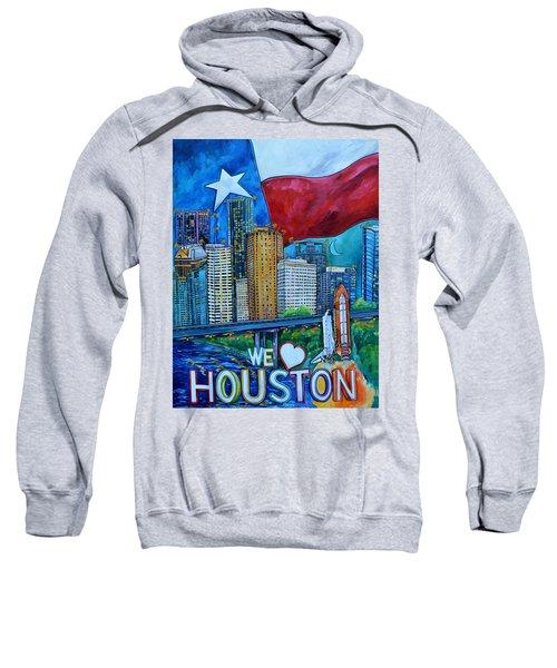 Houston Montage Sweatshirt