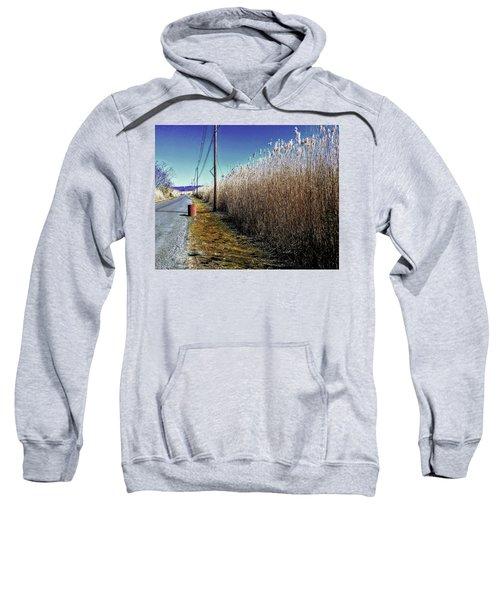 Hudson River Winter Walk Sweatshirt