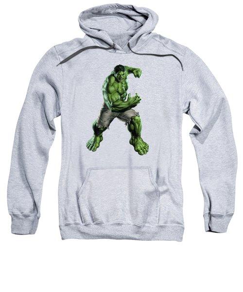 Hulk Splash Super Hero Series Sweatshirt