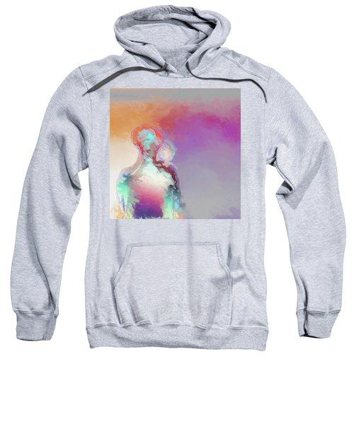 Humanoid Couple On Cloud Nine Sweatshirt