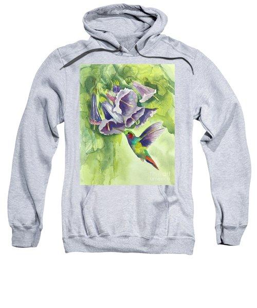 Hummingbird And Trumpets Sweatshirt