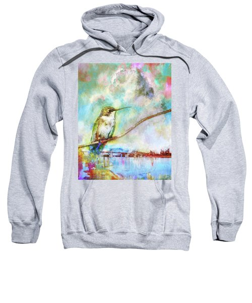 Hummingbird By The Chattanooga Riverfront Sweatshirt