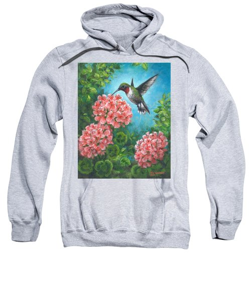Hummingbird Heaven Sweatshirt