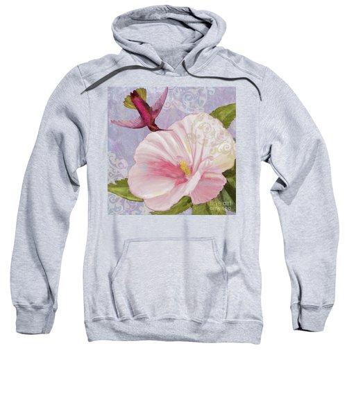 Hummingbird Hibiscus II Sweatshirt