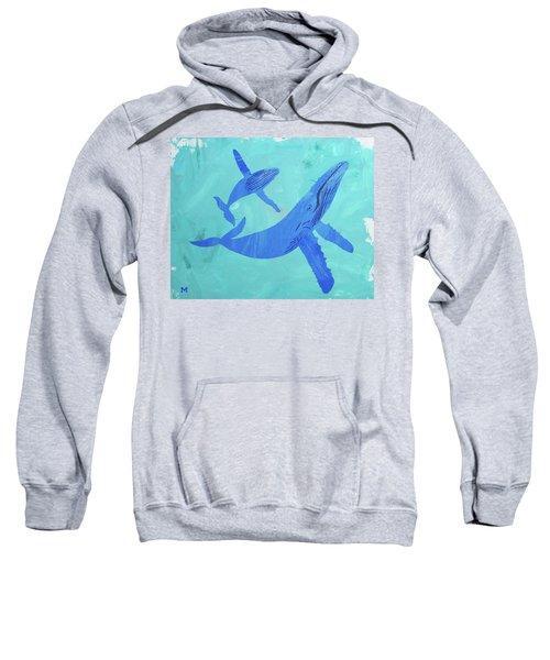 Humpback Whales Sweatshirt