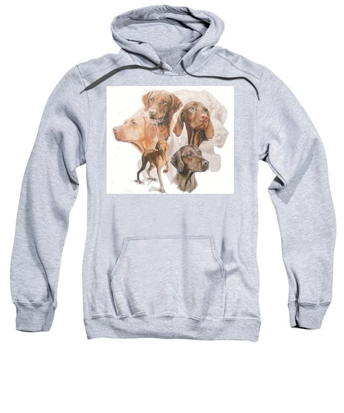 Hungarian Vizsla Medley Sweatshirt