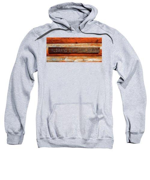 Husband's Waiting Bench - Denali National Park Sweatshirt