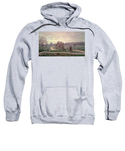 Hyde Park Sweatshirt by Claude Monet