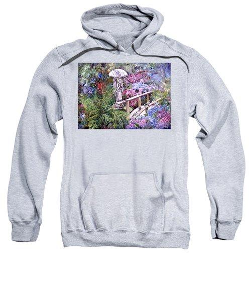 Hydrangea In The Formosa Gardens Sweatshirt