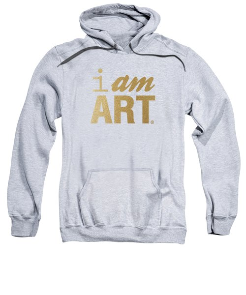I Am Art- Gold Sweatshirt