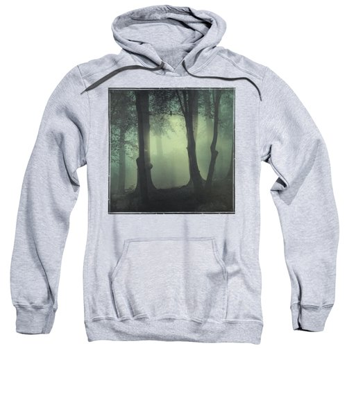 I Am Not My Usual Self - Foggy Forest Sweatshirt