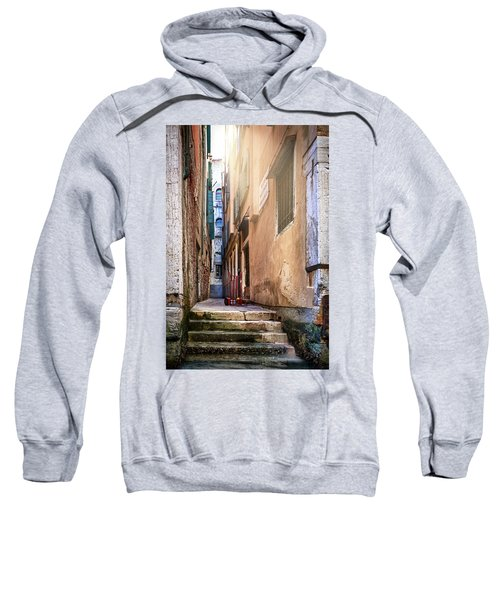 I Have Seen Your Trolley, Somewhere In Venice Sweatshirt