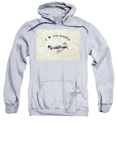 I Love Planes - Hurricane Sweatshirt