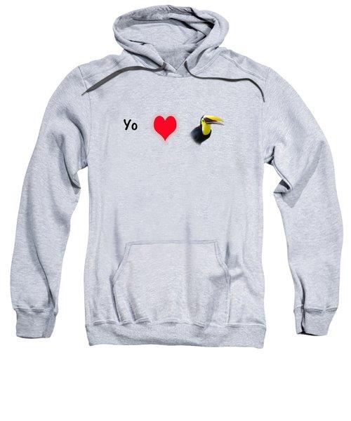 I Love Toucans Sweatshirt by Paul  Gerace