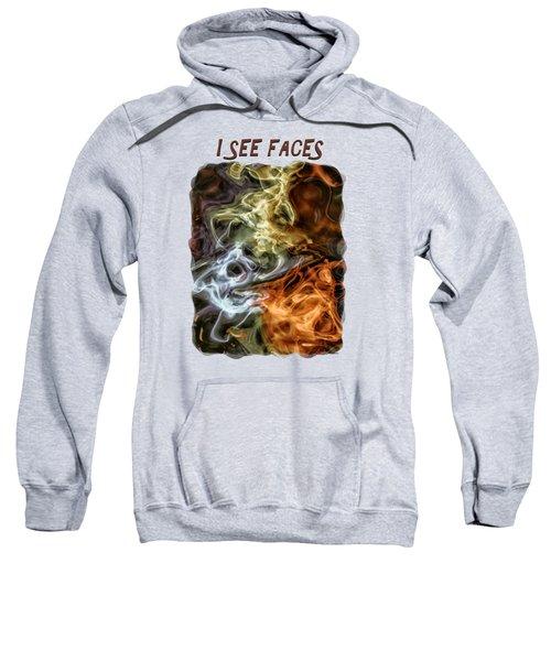 I See Faces Sweatshirt