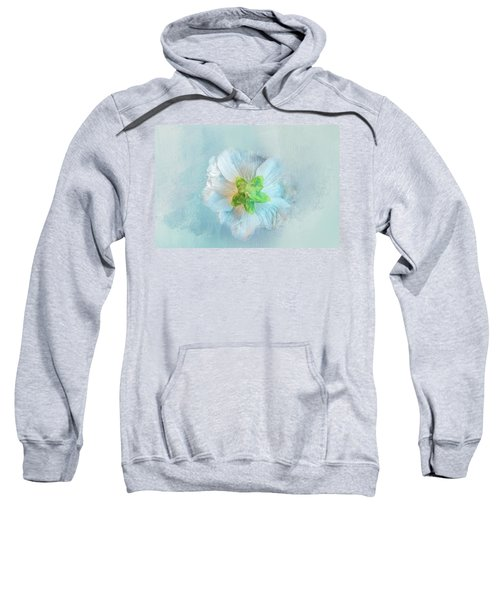 Ice Blue Under Sweatshirt