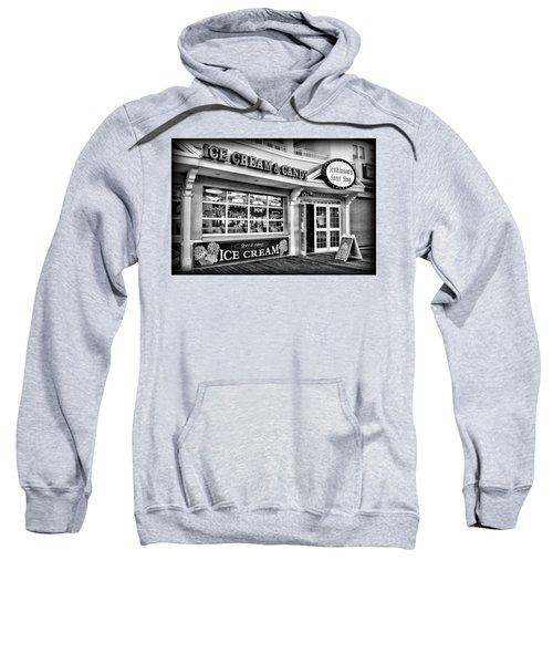 Ice Cream And Candy Shop At The Boardwalk - Jersey Shore Sweatshirt