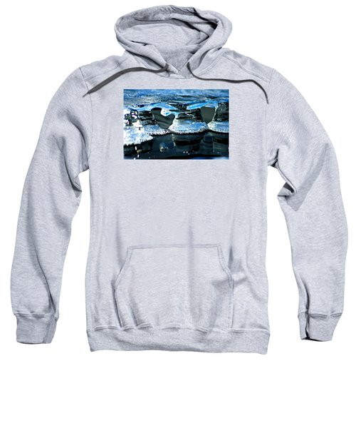 Ice Formation 10 Sweatshirt