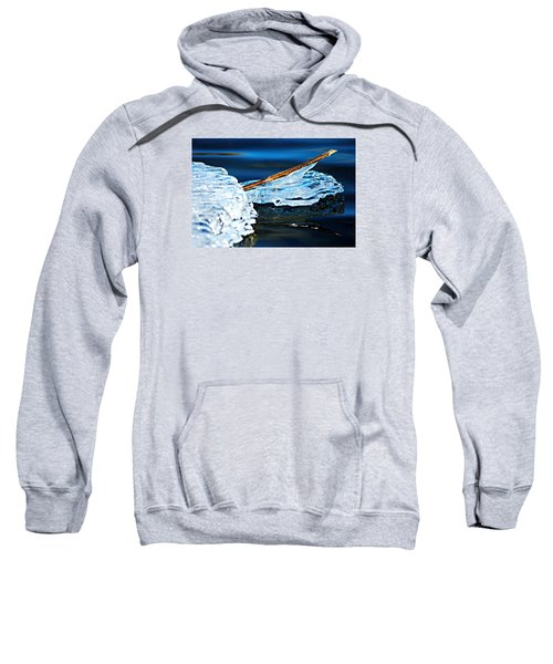 Ice Formation 12 Sweatshirt
