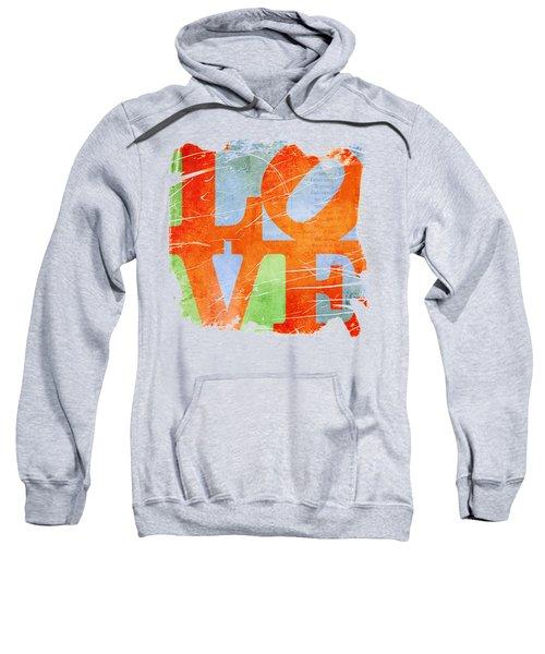 Iconic Love - Grunge Sweatshirt by Paulette B Wright