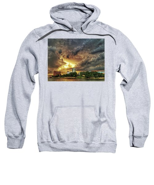 Ict Storm - From Smrt-phn L Sweatshirt